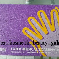 harga Sarung Tangan Latex/handscoon Maxter Non Powder/non Steril Glove - Box Tokopedia.com