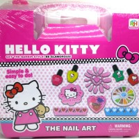 Jual Jual Hello Kitty Fashion And Nail Art Koper - Mainan Menghias Kuku Murah
