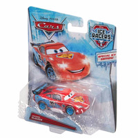 (PROMO) Original Disney Cars Ice Racers Lightning McQueen Die Cast (1: