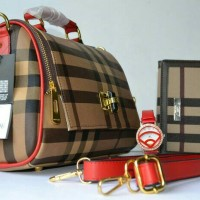 TAS IMPORT BURBERRY 3 in 1 #65