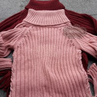 Jual Turtleneck Sweater-Sweater Rajut Tebal Musim Dingin-Knitted Sweater Murah