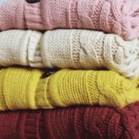 Cardigan tumblr cable best seller-Sweater Cardi Rajut tebal