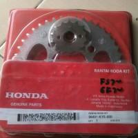harga Gear Set Honda Megapro Monoshock/verza Original Tokopedia.com