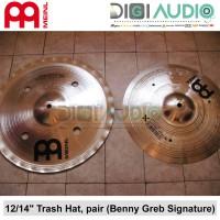 """Meinl Cymbal 12"""" / 14"""" Trash HiHat Benny Greb Generation X GX-12/14TH"""