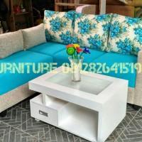 sofa L minimalis, sofa bed lantai n reclening, sofa L bed