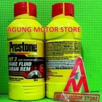 Brake Fluid / Minyak Rem PRESTONE DOT 3 RED ( 300 ML )