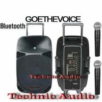 harga Portable Wireles Meeting Goethevoice Max15wr 15 Inchi Tokopedia.com