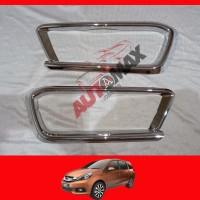 Garnish / Ring Foglamp Chrome Honda Mobilio Model / Type E Prestige