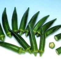10 Benih/Biji/Bibit Sayuran/Okra Greennie