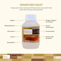 Jelly Gamat Bio Gold G Sea Cucumber original / asli