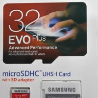 Memori Samsung 32GB MicroSD XC UHS-1 Class 10