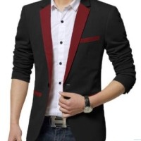 New Slim Fit Casual jacket Men Jacket / Jas pria