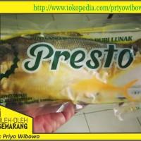 Bandeng Presto Duri Lunak Merk Presto kemasan vacuum Asli Semarang Pw