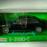 Diecast Welly NEX 1/24 Mercedes-Benz S Class Black