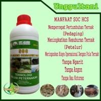 SOC HCS Obat Untuk Membuat Pakan Fermentasi Kambing/Sapi Super Murah