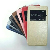 Flipcover Vivo V5 5.5 inchi Leather Case Sarung Buku HP Flip Case