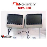 "Headrest Monitor 8"" 8inch NAKAMICHI NHM-080 (Beige) TV Bantalan NHM080"