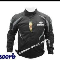 jaket touring warna hitam