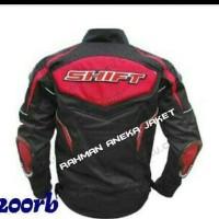 jaket touring shift warna merah