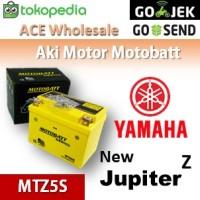 Aki kering/ New Jupiter Z Yamaha/ MOTOBATT MTZ5S/ accu gel motor AB
