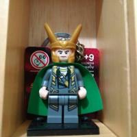 Keychain Lego - Super Heroes (Loki)