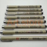 Jual Sakura Drawing Pen Micron / Drawing Pen Merk Mikron Murah