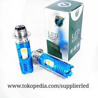 Lampu Utama LED Motor 2 sisi RTD M11G Socket H6