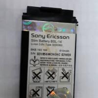 BATERAI HP SONY ERICSSON BSL-14 ORI