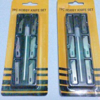 7 in 1 pcs hobby knife set ( Pisau Acrylic Set ) / PISAU IC 7 IN 1