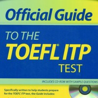 ETS Official Guide to the TOEFL ITP Test + CD