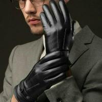 Jual sarung tangan pria untuk winter / musim dingin touchscreen Murah