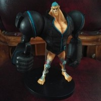 Jual action Figure one piece glm franky gold Murah