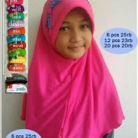 Jual Jilbab anak promo beli 5 gratis 1 Murah
