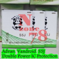 Baterai Advan Vandroid S5j S5-j Rakkipanda Double Power Protection