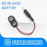 Jack DC For Battery 9V