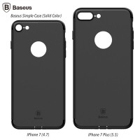 Baseus Simple Case Solid Color iPhone 7 TPU Soft Case Ultrathin