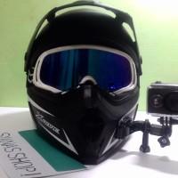 Kamera Helm Perekam Perjalanan Waterproof GoPro Killer Action Cam
