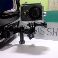 Mounting Helm Action Cam Holder Cam FULL SET Mounting ActionCam Kamera