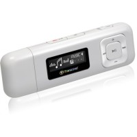 Transcend MP3 Player 8GB MP 330 - WHITE PUTIH Bentuk USB Bisa FM Radio