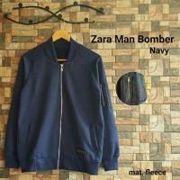 JAKET/SWEATER/BLAZER/COAT/HOODIE/JAS Zara Men Bomber Navy Jaket Man /