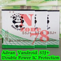 Baterai Advan Vandroid S5j+ Rakkipanda Double Power Protection