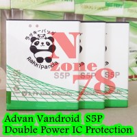Baterai Advan Vandroid S5P Rakkipanda Double Power Protection
