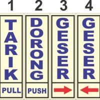 Harga stiker pintu tarik dorong | antitipu.com