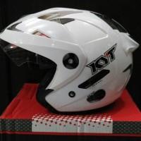 Helm KYT Forever Solid Visor Halface Original