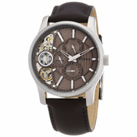Jam Tangan Fossil ME1098 Twist Brown Dial