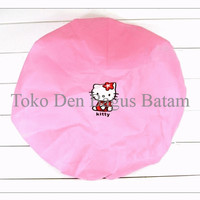 Jual Fan Cover / Sarung Penutup / Pelindung Kipas Angin Motif Hello Kitty ( Murah