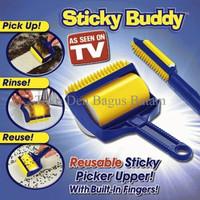 Jual Sticky Buddy 2 in 1 / Roller Pembersih Debu, Bulu Dan Kotoran ( Perlen Murah