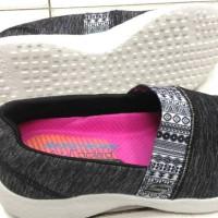 Skechers air cooled memory foam black for women ori murah no box
