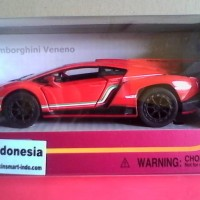Diecast Lamborghini - Red (Kinsmart)