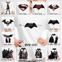 Kaos / Baju Anak Laki Laki Batman Vs Superman - 13 Motif/Design -